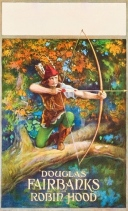 1922 movie poster. Douglas Fairbanks as Robin Hood. (USPD: Pub.date, artist life/Commons.wikimedia.org)