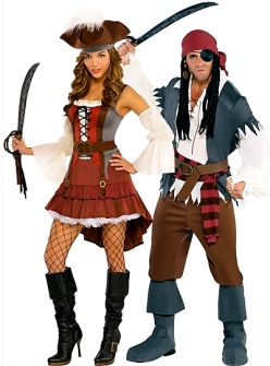 Couple of pirates.(Party city.com)