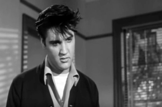 King of cool. Elvis Presley-1958.King Creole trailer. Paramount pictures/ USPD: pub.date, no cr. notice /Commons.wikimedia.org)