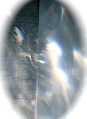 Ghostly image in oval. ALL rights reserved. NO permissions granted. Copyrighted