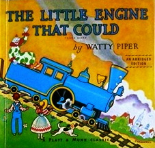 Book. with train on cover. Little engine that could (amazon-com)