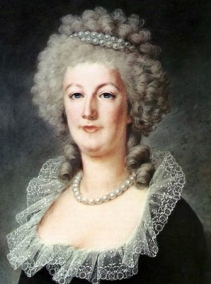 Look at that woman's hairdo! Queen Marie-Antoinette (1790s - Kucharsky/USPD: artist life/Commons.wikimedia.org)