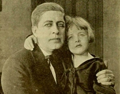 "father and daughter 1919. ""Mayor of Filbert"". Moving Picture World, May, 1919 (USP pub.date /Commons.wikimedia.org)"