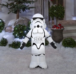 Home Depot's inflatable Star Wars storm trooper. Christmas yard decoration (homedepot.com)