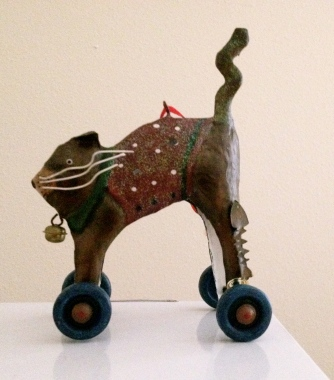 Fast cat on wheels. ALL rights reserved. Copyrighted. NO permissions granted