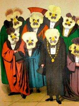 "Odd crowd by Count Franz Graf Von Pocci's ""Viola Tricolor"" (USPD-pub.date/Commons.wikimedia.org)"