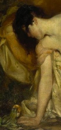 Disheveled Princess talking to frog.1909 painting .Bluemenschein. Brooklyn Museum. Brooklyn's Women's Club/ USPD. pub.date, no cr /Commons.wikimedia.org)