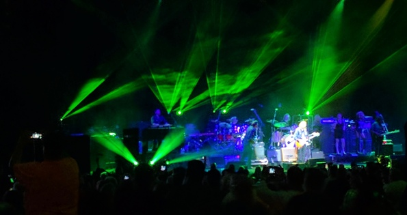 Joe Walsh and crew. Woodlands . Petty concert. ALL rights reserved. Copyrighted. NO permissions granted