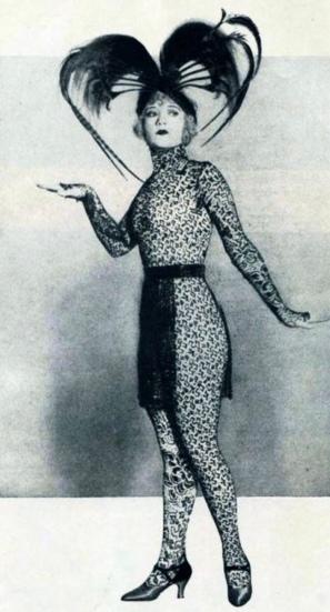Woman in costume. 1922. Actress Betty Compson in film The Green Tenptation/Paramount still fopr Film Fun 1922 (USPD. pub.date, artist life/WIkimedia.org)