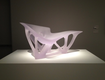 Chair. Museum of Fine Arts exhibit of Joris Laarman Lab (Image: copyrighted, all rights reserved, NO permissions granted)