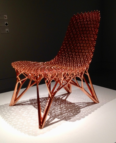 Adaptation Chair by Joris Laarman Lab (MFAH/ image copyrighted, no permissions. all rights reserved)