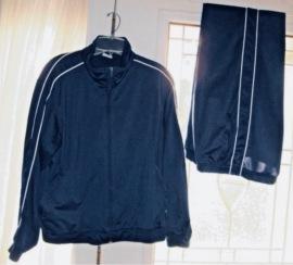 Retro Fashion. 1980's Vintage jogging suit with stripes (eBay)