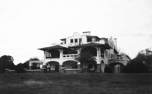 1910 William Scott mansion. Casa Mare, Seabrook, TX razed in 1992