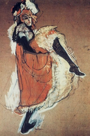 Can can dancer (Toulouse-lautrec: USPD.reprod of PD art, artist life/Commons.wikimedia.org)