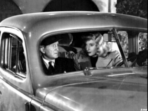 Couple in vintage sedan car. 1944. Paramount Pict/Time, inc/Life MAg. (USPD.pub.stitll, pub.date/Commons.wikimedia.org
