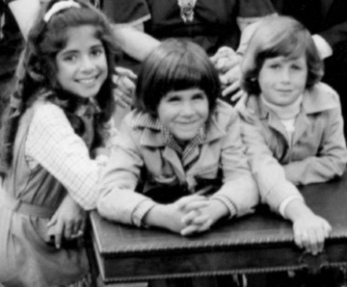 Girl and two boys. Children. TV Show The Montefuscos, NBC (USPD pub.photo, pub.date/Commons.wikimedia.org)