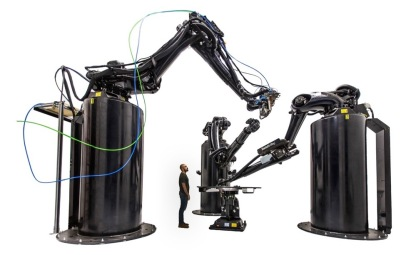 Largest metal 3D printer in the world. Named Stargate, it builds rockets (image: relativityspace.com)