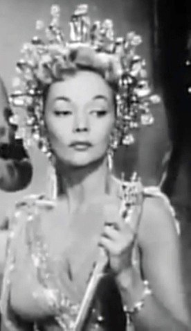 Glamorous woman with crown from Mars.. movie trailer 1953 Abbot and Costello Go to Mars/USPD pub.date, artist life/Commons.wikimedia.org)