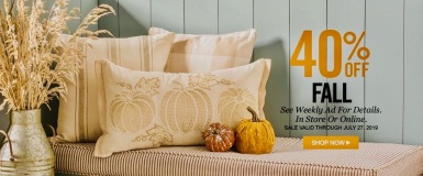 seasonal decorations for fall (Hobby Lobby adv./hobbylobby.org)