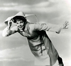 Sally Field as Flying Nun, 1967. (USPD. publicity pix, artist life/IMB screenshot)