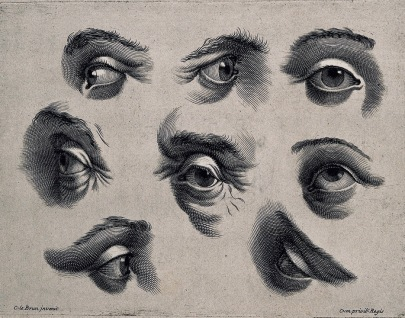 Eight Eyes. engraving after C.Le Brun. Iconographic Collections/Wellcome Gallery Images/Commons.wikimedia.org)