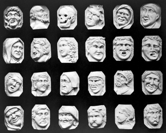 Ivory Heads with experessions. Iconic Collections/ Wellcome Trust/UK /Commons.wikimedia.org)