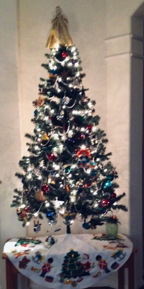 Christmas Tree lights ( © image, all rights reserved, copyrighted, no permissions granted)