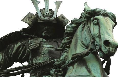 Samuri Kusunoki Masashige on horse statute. (Jim Epler/Flickr/Commons.wikimedia.org)