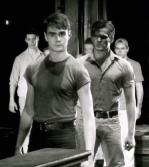 Actors. Gang boys in West Side Story production. (Image by Thomaschange/Commons.wikimedia.org)