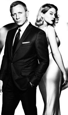 (007 movie still/poster USPD. pub.date, artist life/All poster)