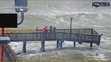 Iconic 61st Street Fishing Pier (KHOU screenshot)