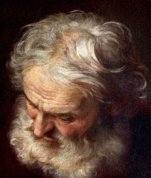 Old man's head. (USPD, artist life/commonswikimedia.org)