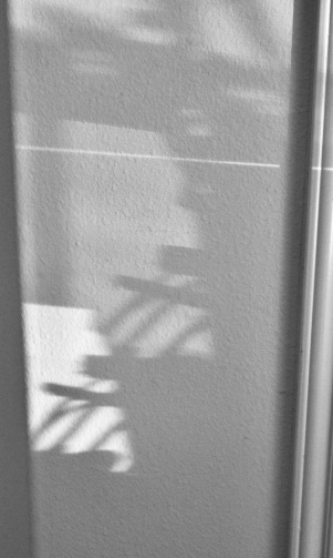 Shadows like reindeer on wall. (© image copyrighted, all rights reserved, no permissions granted)