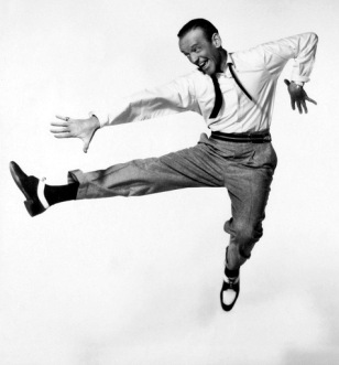 man dancing. Fred Astaire 1955 studio publicity still (USPD. pub.date, artist life/Commons.wikimedia.org)